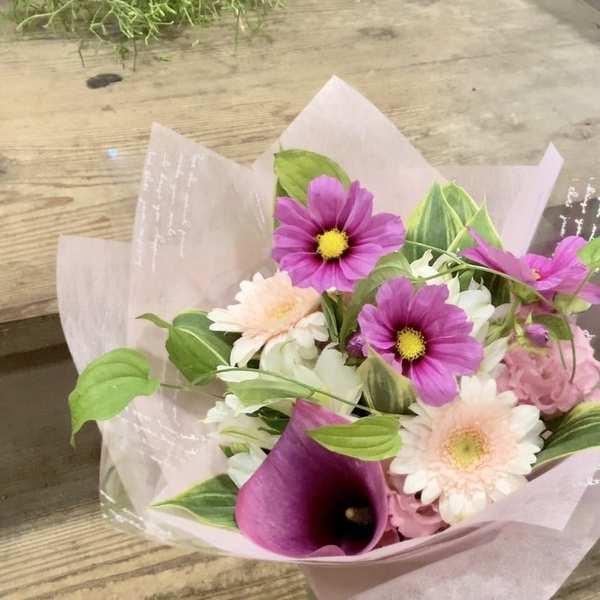 季節のお花を贈る・・